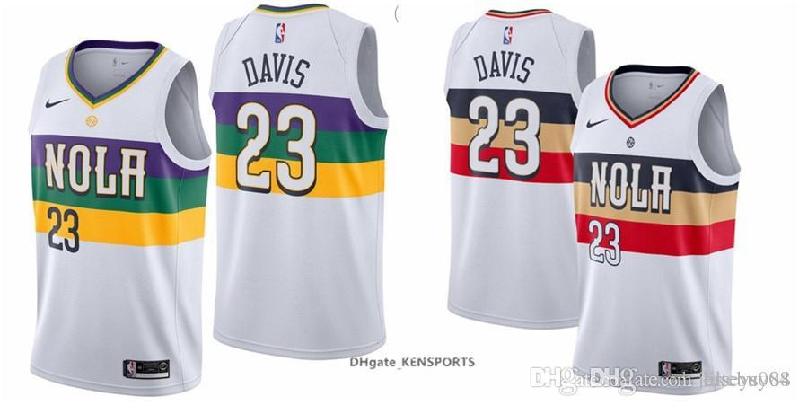 ad467d36721d ... where to buy 2019 city edition 2019 men new orleans basketball pelicans  jerseys 23 anthony davis