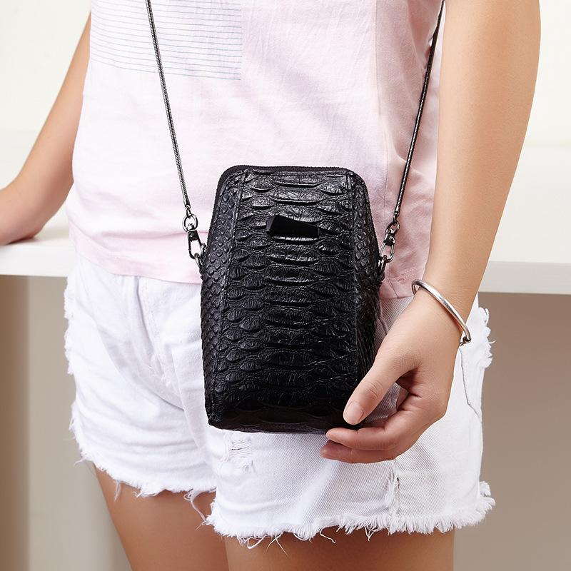 Andralyn 2019 New Crocodile Fashion Ladies Handbag Shoulder Bag Messenger Bag Casual Popular Mobile Phone Small Bag for Women