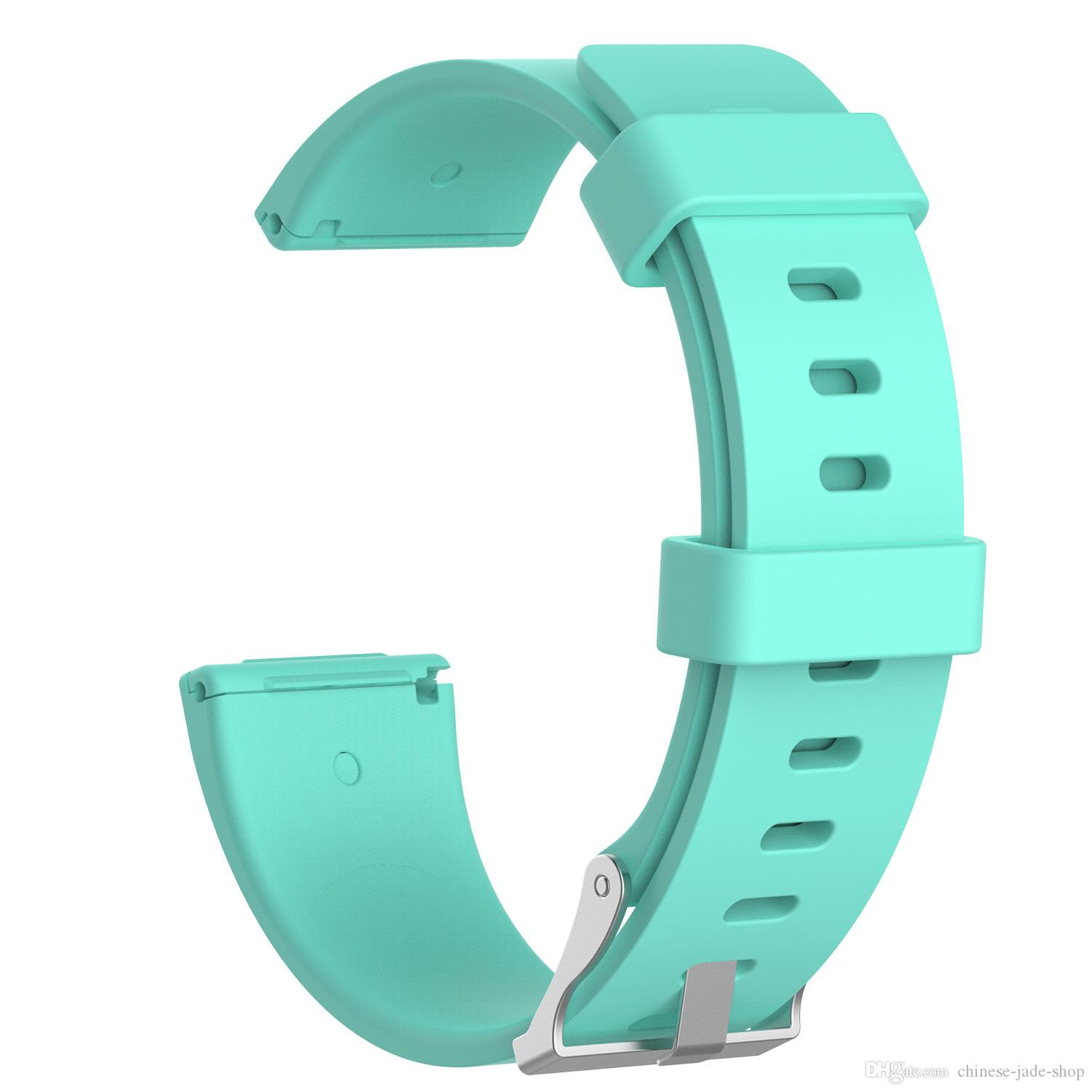 For Fitbit Versa Lite Soft Silicone TPE Replacement Watch Bands Wristband  Bracelet Band Wearable Belt Strap With needle Clasp 300PCS/LOT