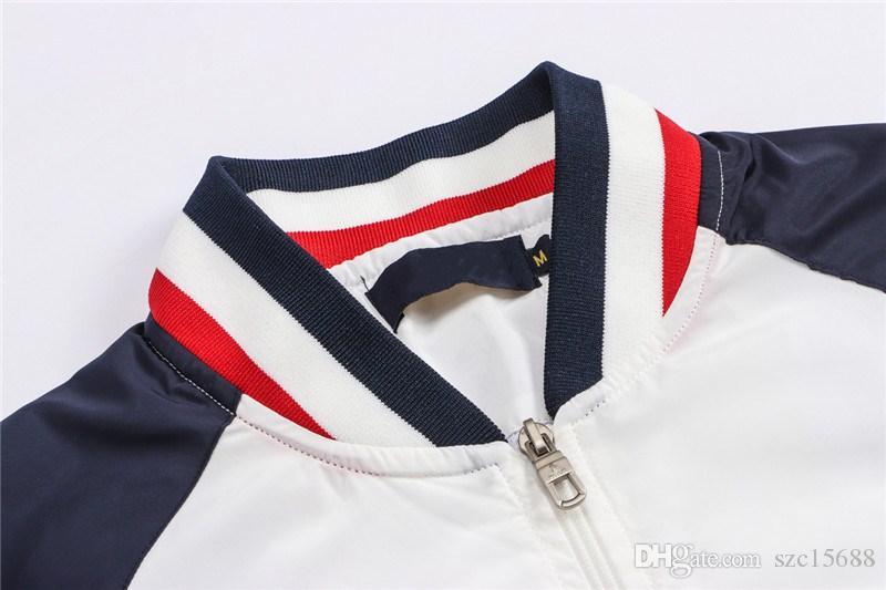 ABD atı logosu marka tasarımcısı Yeni ilkbahar ve sonbahar golf rüzgarlık erkek ceket rahat ceket, golf erkek su geçirmez golf giyim erkek