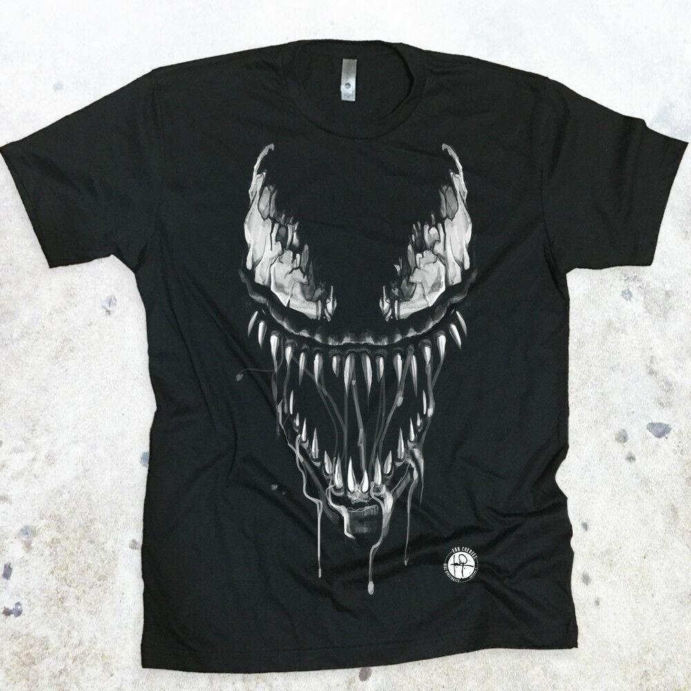 11e8bda14 Venom Tshirt Cracked Eyes Men s T-shirt Marvel Spiderman Tank Top ...
