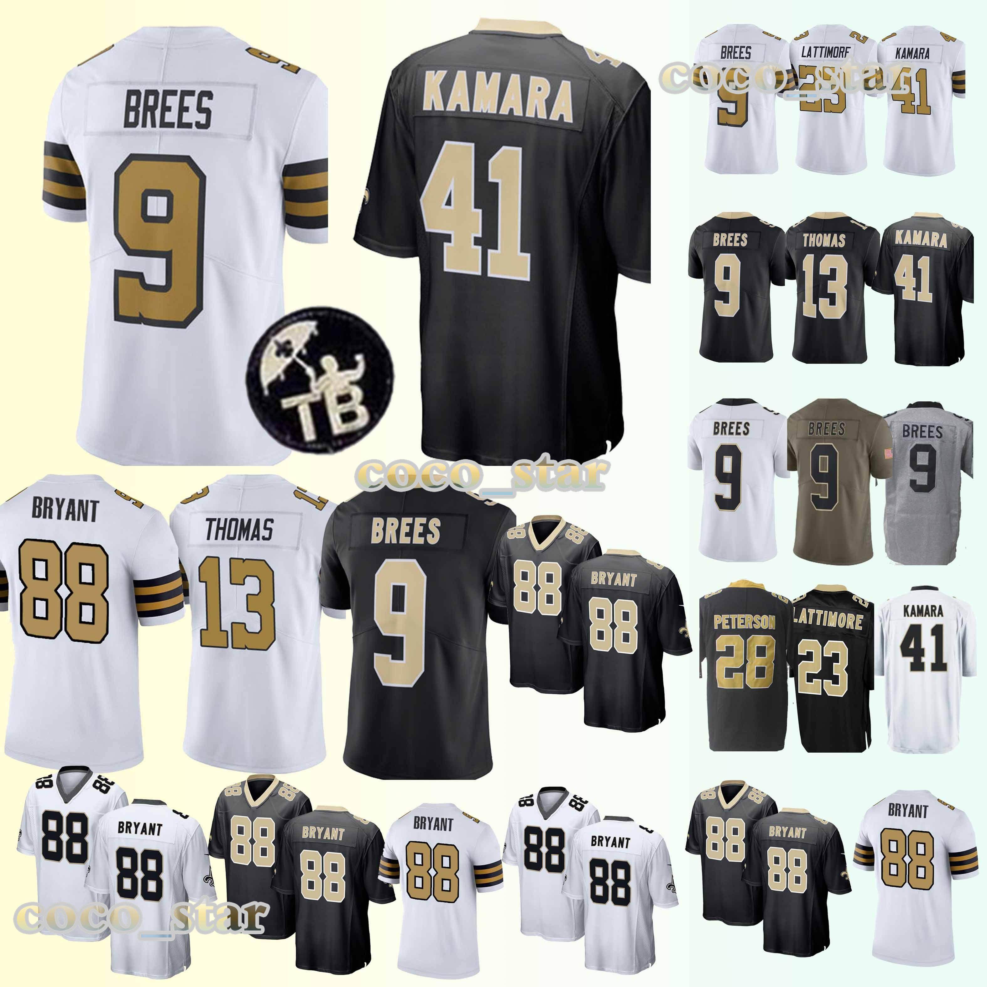 74d93657 2019 New Orleans Jerseys Saints 41 Alvin Kamara 9 Drew Brees 23 Marshon  Lattimore 13 Michael Thomas New Jersey Latest Technology From  Best_jerseys_store, ...