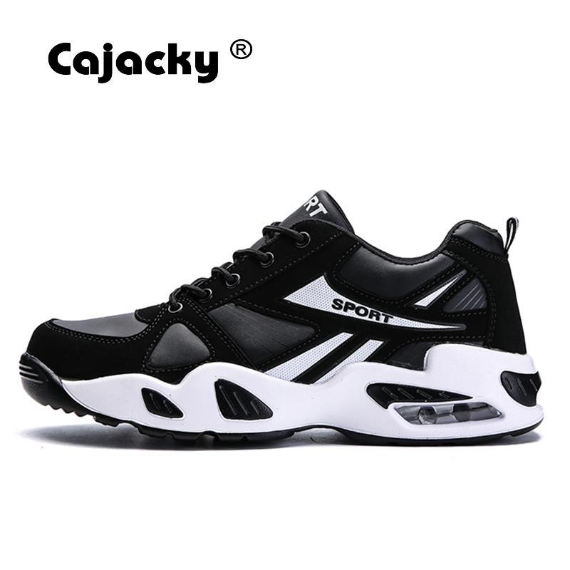 995f5917eae1 Cajacky Men Walking Shoes Lace Up Fashion Style Sport Shoes Unisex  Breathable Spring Male Walk Trainers Athletic Tenis New