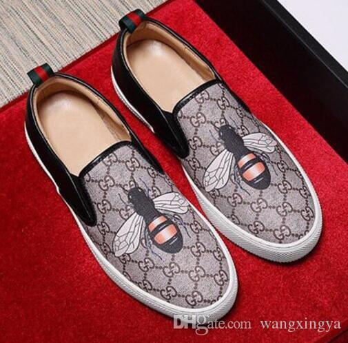 f11c462e4e Compre Homens Sapatos De Couro Genuíno Luxo Sapatos Casuais Mocassins Slip  On Italian Designer De Marca Italiana Sapatos De Vestido Flattie Sapato  Casual 38 ...