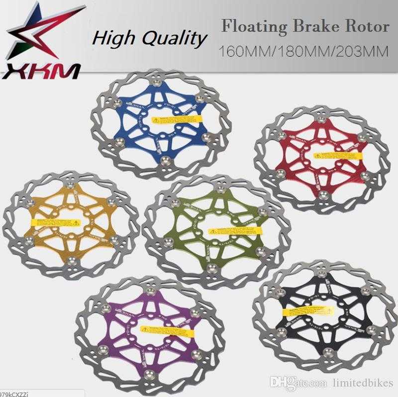 Ultralight mtb bicycle disc brake rotor 160/180/203mm rotors bicycle parts  bicycle 6 colors Mountain bike cycling parts
