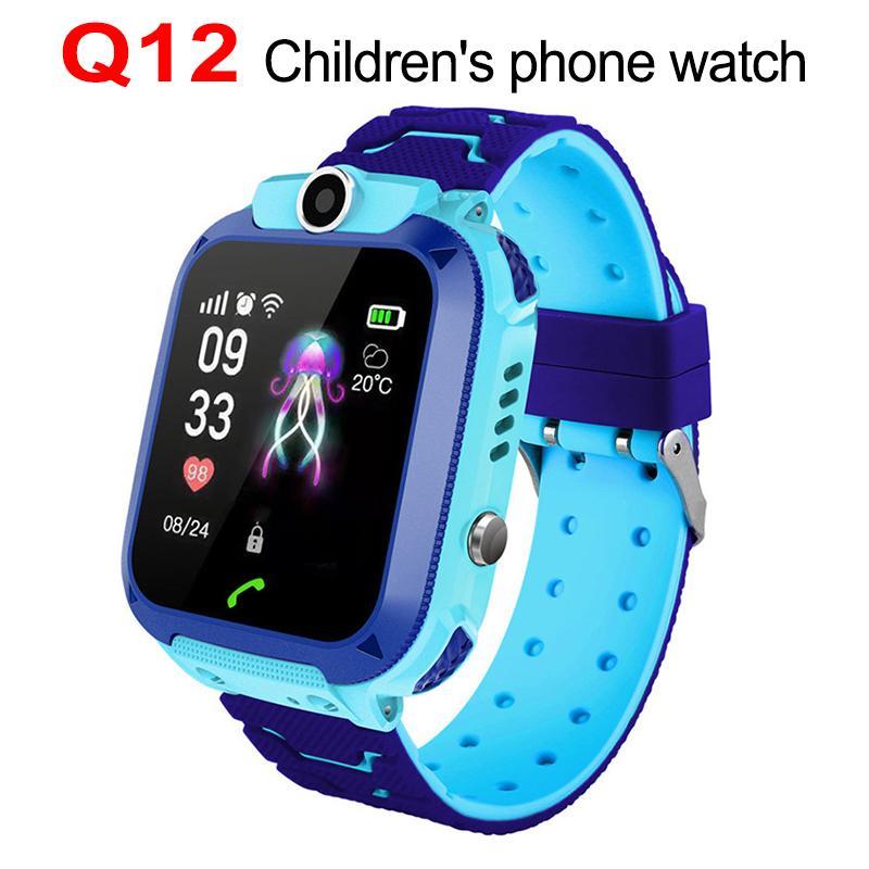 f2ad5cd10b Lg Watch Q12 Smart Watch Telefono Bambini Studente 1,44 Pollici  Impermeabile Intelligente Orologio Chiamata Chiamata Smart Chat Vocale  Sport Smartwatch Lg ...