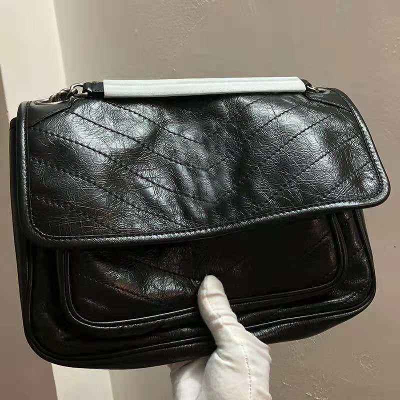 Fashion Fold Cowhide Leather Designer Handbags High Quality Luxury Handbags  Famous Brands Women Bags Genuine Leather Flip Cover Shoulder Bag Hobo  Handbags ... fd9cc0d00f4da