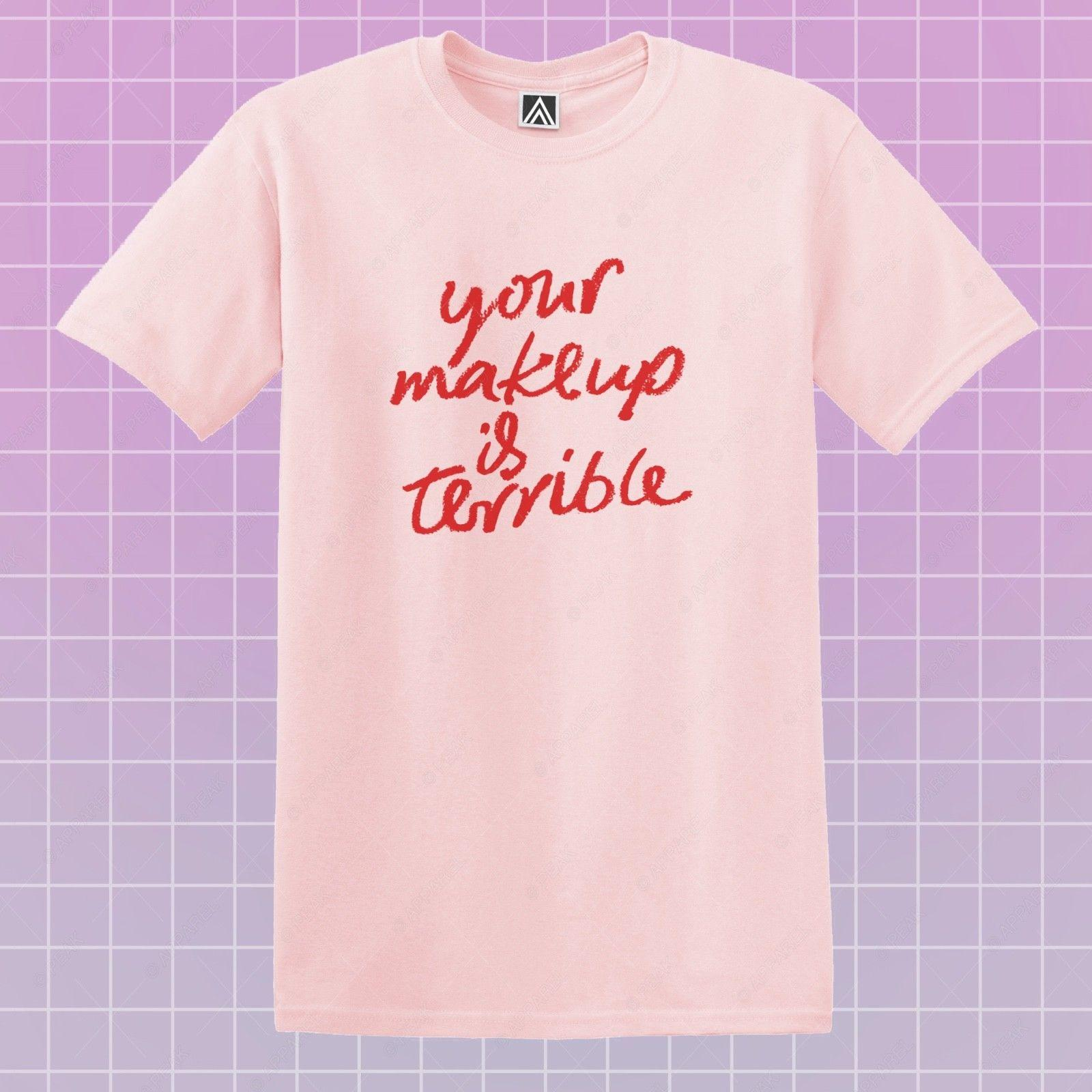 Makeup Terrible T Shirt Alaska Ru Drag Tee LGBT Race Gay Pride Bottom Queens Top Brand Shirts Jeans Print Funny Tee Shirts Mens T Shirt From Cancup, ...