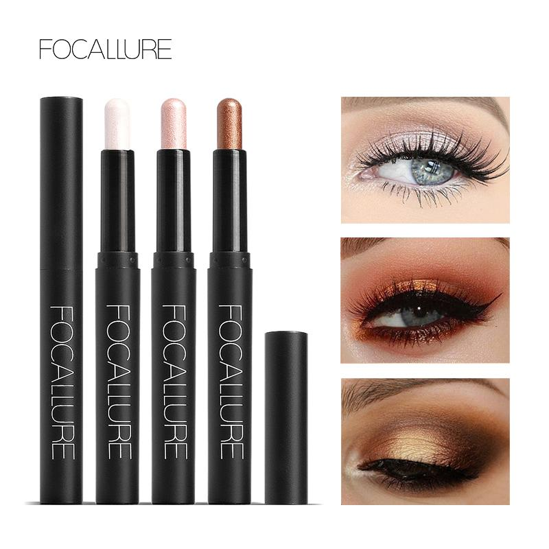 Shimmer Eye Shadow Pencil Luminous Metallic Shadow Liner Pen Sticker Easy to Wear Long Lasting Professional Cosmetic
