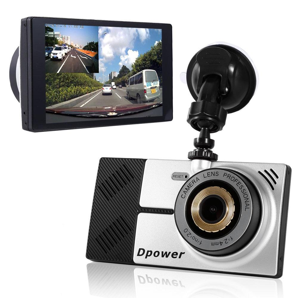 D05 Highlight Touch Screen Driving Recorder Mirror + GPS Tracking GPS Navigation Loop Recording Night Vision car dvr