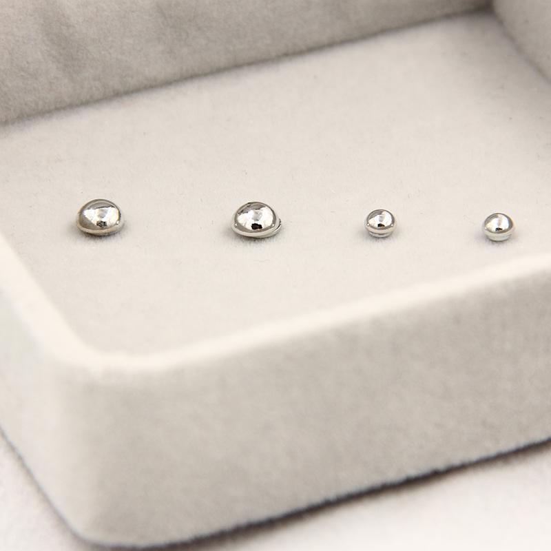 3MM 6 MM Mini l non aimant percé boucles d'oreilles boucles d'oreilles magnétiques boucles d'oreilles fraîches C94 C95
