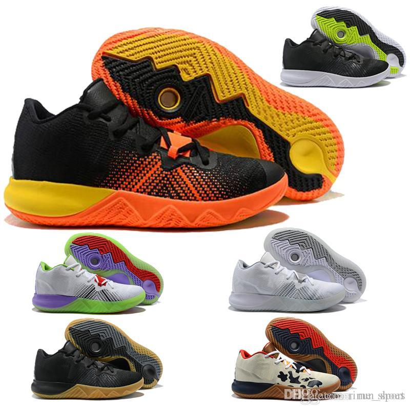 Top Irving Basketball Shoes Men Red Zoom Core Live II Kay Yow EP 2018  Create Boston Themed Flytrap Low Oxford Kyrie Sports Shoe Basketball Shoes  For Kids ... 873701f6915c