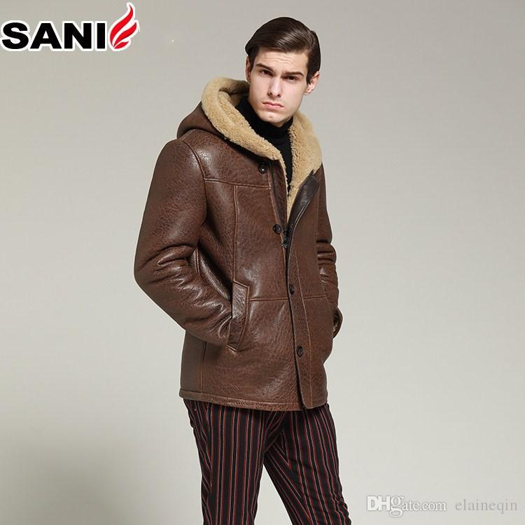 Frauen Aus Echtem Leder Jacke Mode Weichen Schaffell Mantel Winter Warme Kleidung Plus Größe Freies Verschiffen Qualität Kurz Schlank Jacken