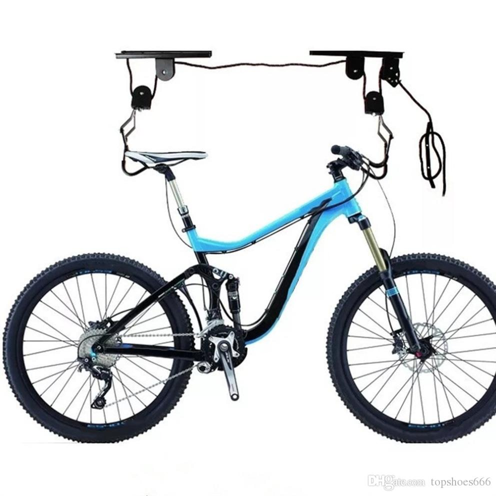 Multifunction Kayak Hoist Pulley System Bike Lift Display Hanger