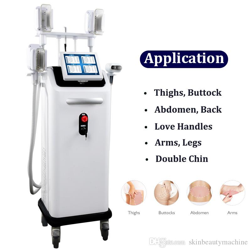 2020 New Cryolipolysis Fat Freeze Slimming Machine Liposuction Criolipolisis Fat Freezing 5 Handle Cryolipolysis Vacuum Lifting Equipment 5S
