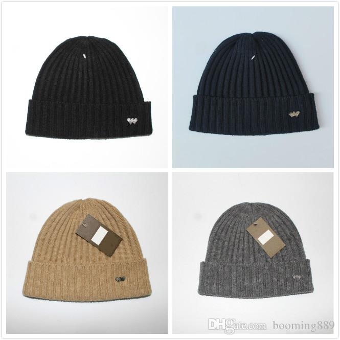 021cbdfb099 Hot 2019 New UA Luxury Brands Men And Women Autumn And Winter Soft Warm Hat  Head Covering Ear Protection Knitted Hat Sports Outdoor Wool Hat Baseball  Caps ...