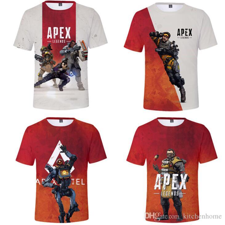 116a8db12 2019 Apex Legend Video Games Men S T Shirt With 3D Printing Victory Gaming  Apex Unix T Shirts For Teenagers Game Party Costumes From Kitchenhome