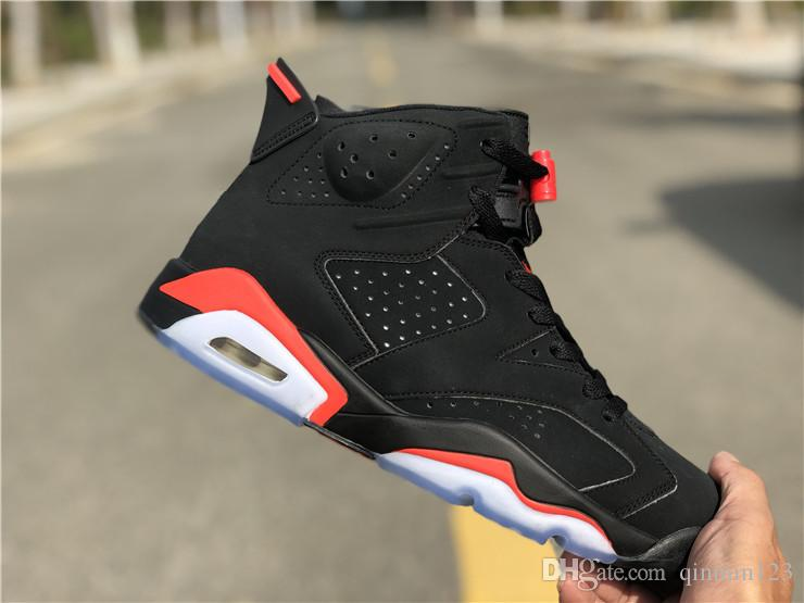 quality design 75d1e 6e2a2 2019 New 6 Black Infrared red 3M VI Bred men basketball shoes sports 6s  outdoor fashion trainers sneakers with box size 8-13