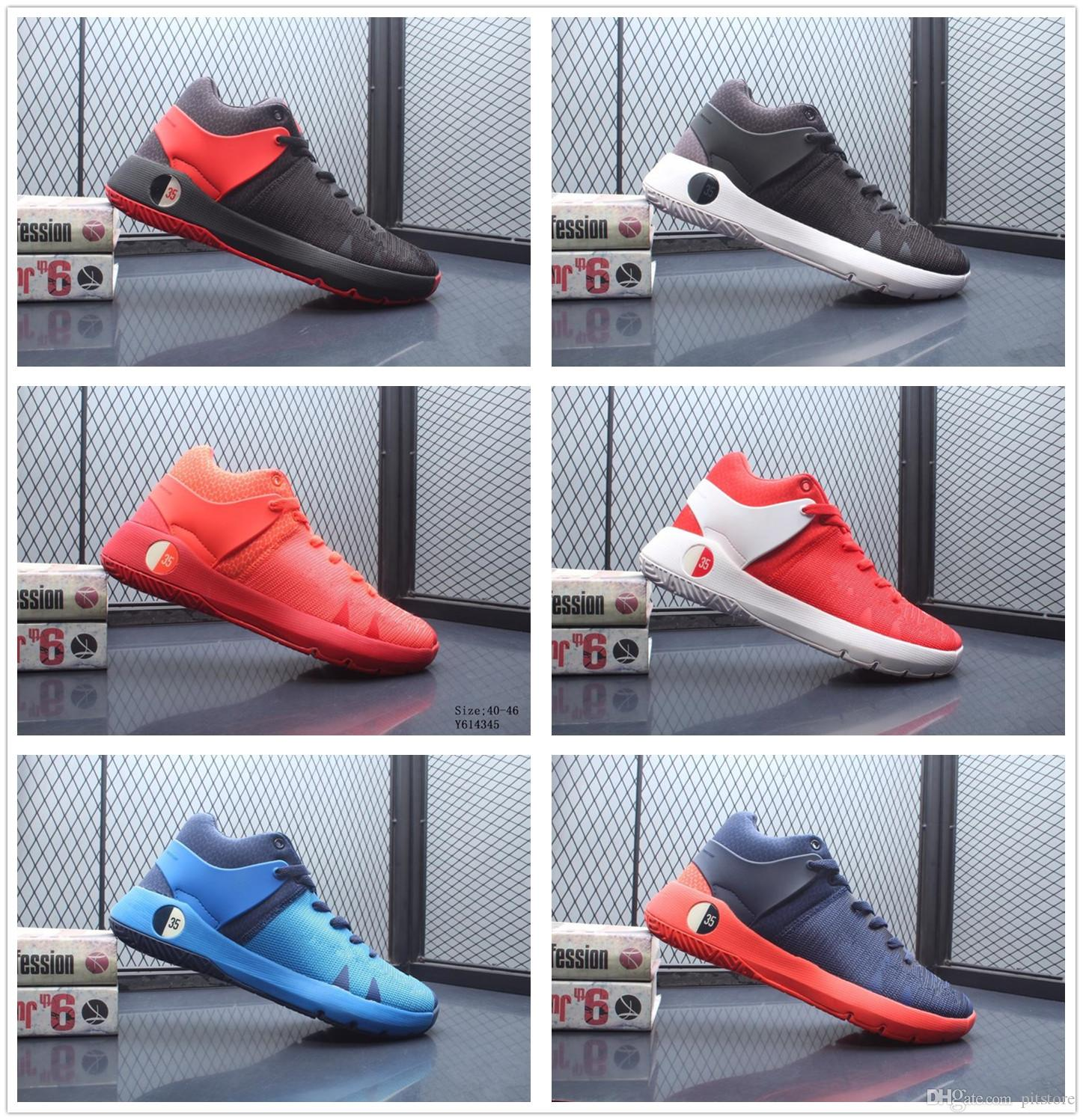 c181918761dd 2019 2019 New MEN Shoes KD Trey 5 IV Shoes KD 5 TREY VI EP Kd 11 EURO 40 46  With Box From Pitstore