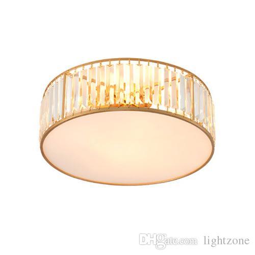 Modernes Led Luminaires La En Décoration Lumières De Or Plafonniers Pour Rondes Lustres Américains Cristal Lampes Lustre Plafonnier tQrCdxshBo