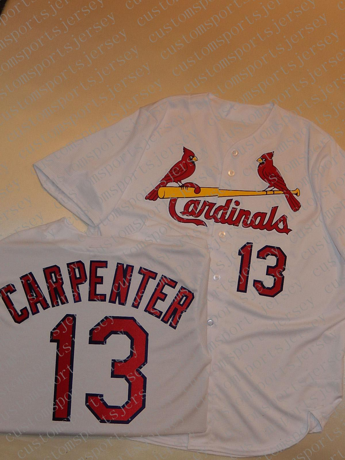 100% broderie sur mesure MATT CARPENTER Maillots Nouveau point personnalisez un nom de nombre MEN Maillots XS-5XL NCAA JERSEY
