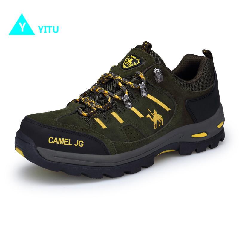 70acc3918db90 Acquista Scarpe Da Trekking YITU Sneakers Da Uomo Outdoor Trekking Scarpe  Sportive Comode Da Uomo Scarpe Da Trekking Antiscivolo Scarpe Da Trekking Da  ...