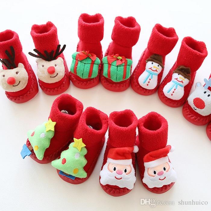 abbastanza economico vendite calde aliexpress Calzini antiscivolo di Natale Calzini per bambini Calzini per bambini  Calzini antiscivolo