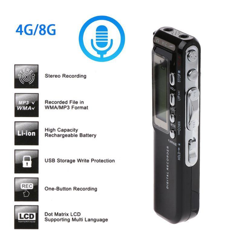 Unterhaltungselektronik Digital Audio Diktiergerät Großen Bildschirm Verlustfreie Recorder Mini Professionelle Aufnahme Stift Usb