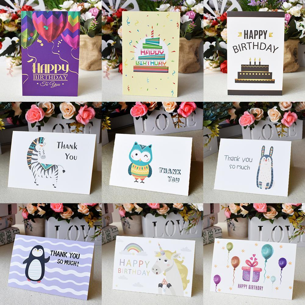 Custom Thank You Cards Bulk Greeting For Kids Note Cards With Envelopes Invitations Blank Inside Greeting Cards 6x4 Free Shipping