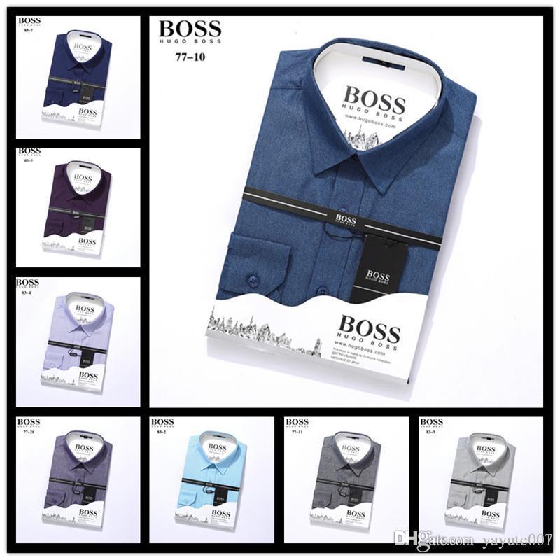 efbd1cb8d iduzi Mens Long Sleeve Oxford Formal High-grade pure cotton Plaid Long  sleeve shirts men's slim Fit Casual business shirt M-4XL