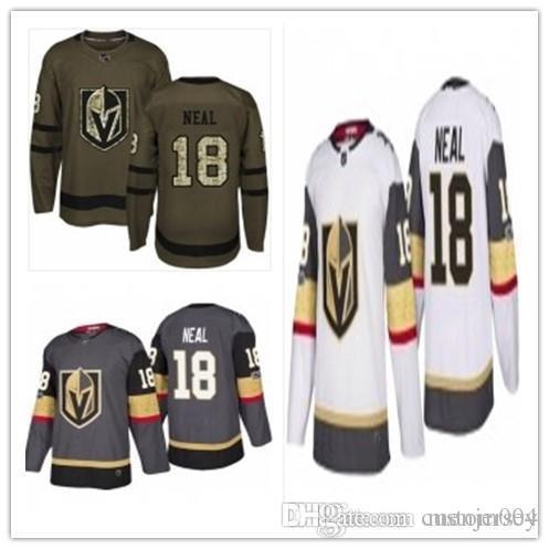 buy popular 6ad8a 52d3e 2019 Hockey Jerseys Vegas Golden Knights men/women/youth best 18 James Neal  Jersey Jersey custom name and number free ship baseball wear
