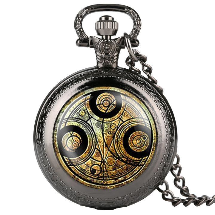 En liquidación estilo clásico gran selección de 2019 Reloj de bolsillo para hombres Relojes retro de bolsillo para adolescentes  Reloj de bolsillo con cadena para regalo de día