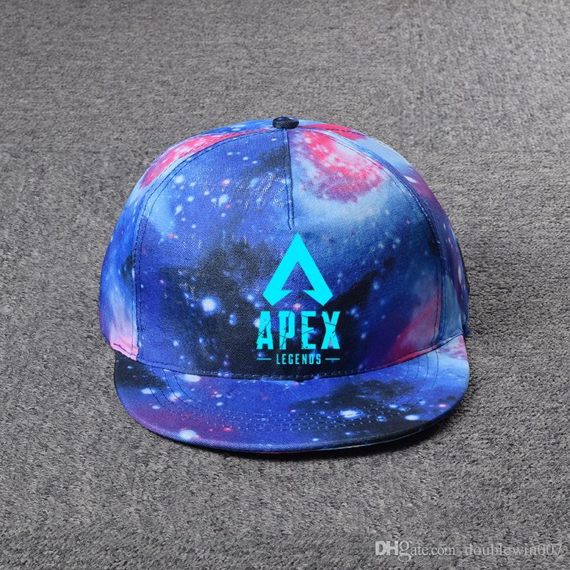 Galaxy Game Apex legends berretto da baseball uomo donna cappelli 2019 Cappelli estivi cappelli da sole cappelli da tennis pittura tennis 8 stili