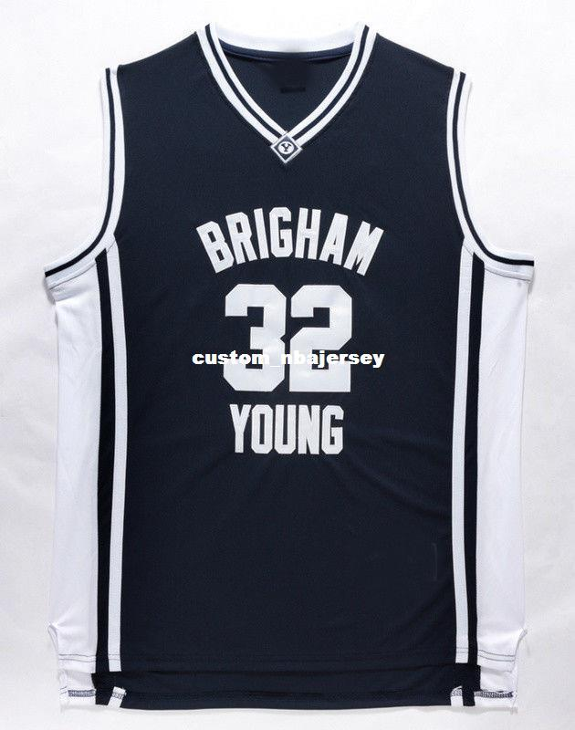 ed1a89220 2019 Cheap Wholesale Jimmer Fredette Jersey 32 Brigham Young Cougars  Stitched Jersey Customize Any Name Number MEN WOMEN YOUTH Basketball Jersey  From ...