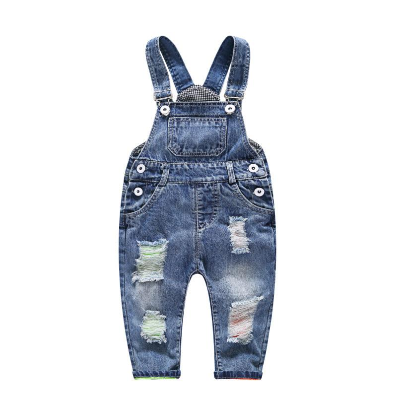 4d6d47d82 Spring Autumn Children Clothing Girls Jeans Denim Blue Baby Boys ...