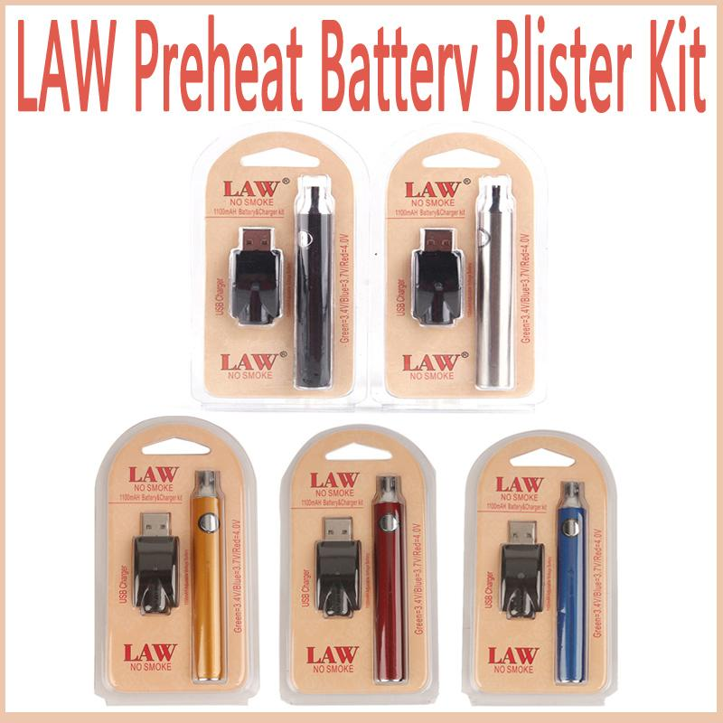 LAW 5 Colors COCO SMOKING PEN Ultra Portable Vape Pen Starter Kit For JUUL  Vapor Pods Cartridge Vaporizer Kits Law Preheat Battery Blister