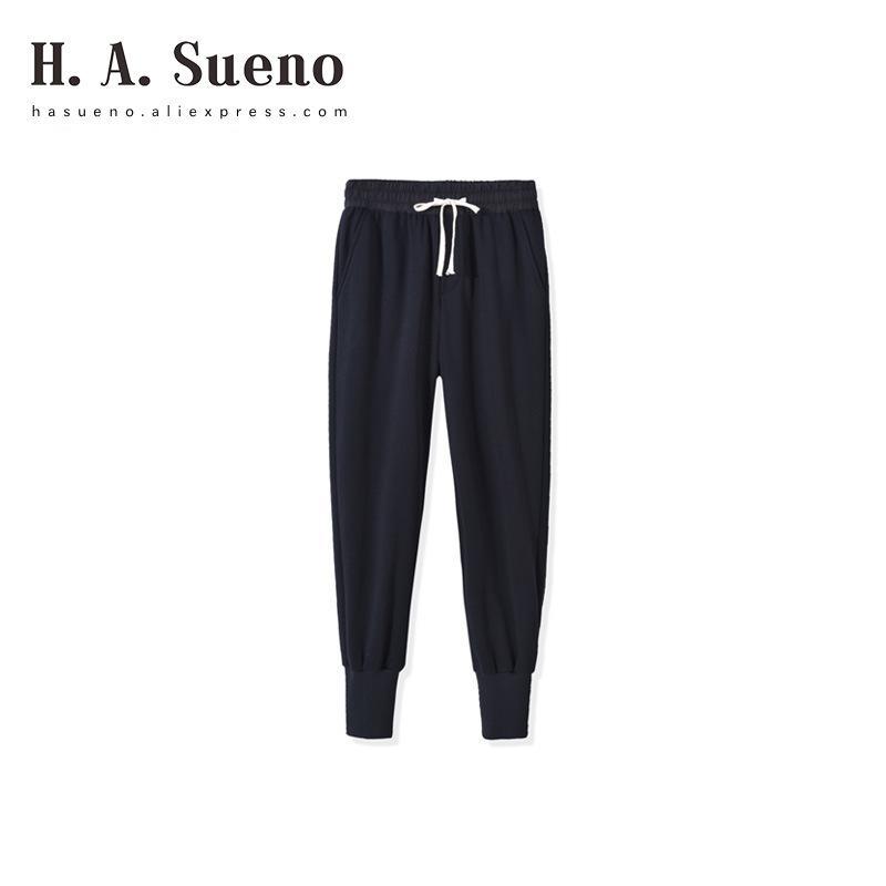 ac6cfd52c8 H.A.Sueno 2018 Fashion INS High Street Mens Pants Hip Hp RO Loose ...