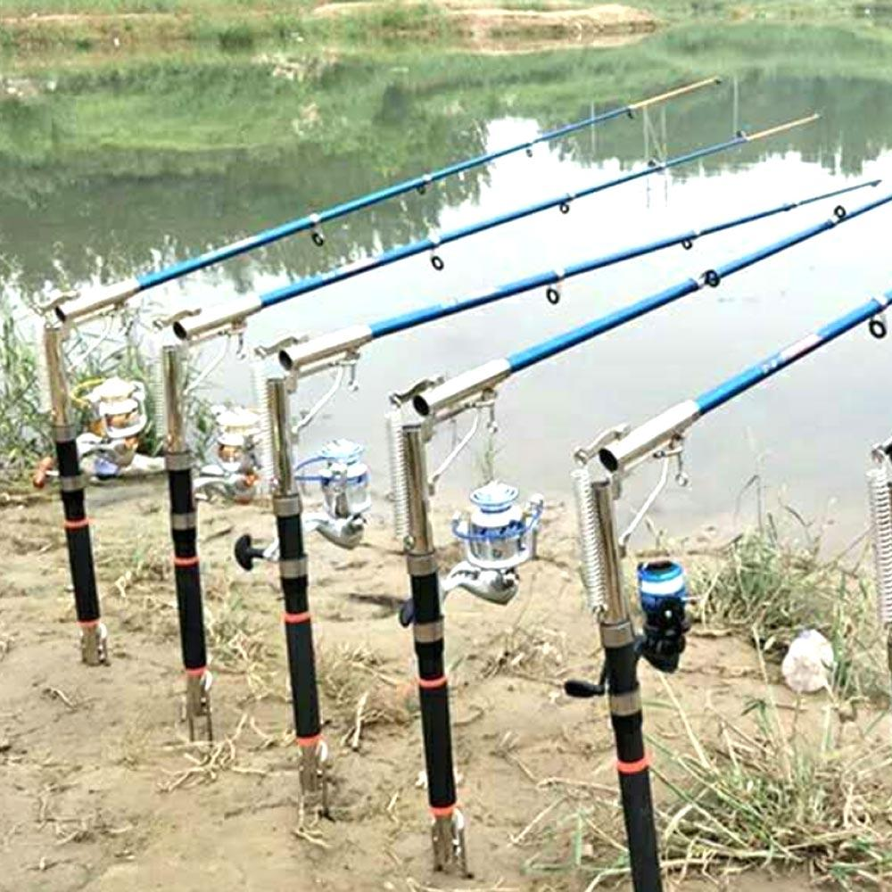 (A347X) Sea rod FRP automatic fishing rod spring rods super hard fishing  rods long-distance throwing rod