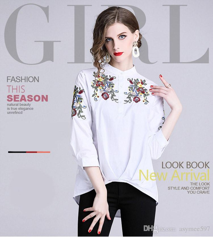 5473ff89f20ca 2019 Fashion Spring New Women s Loose Style Tops