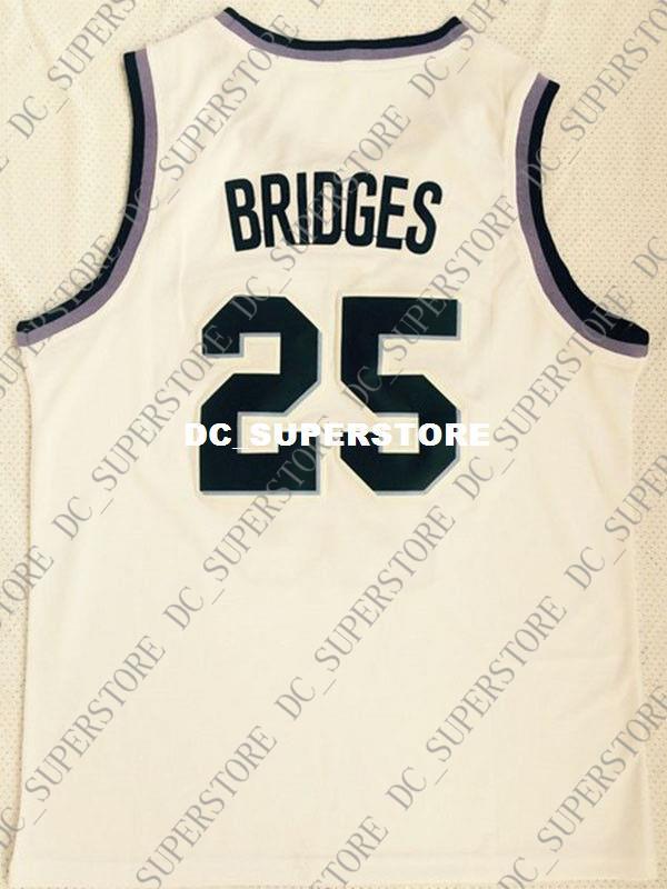 4dcc8d7be85 Cheap Wholesale Mikal Bridges Jersey  25 Villanova Wildcats Stitched ...