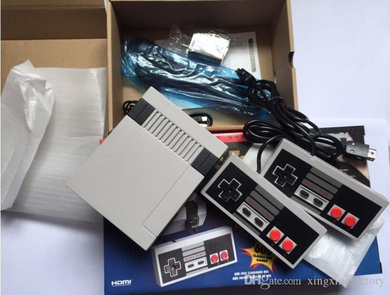 HOT sell HDMI Games TV Video Handheld Console Entertainment System Classic Games For New Edition Model NES with Two keys Controller