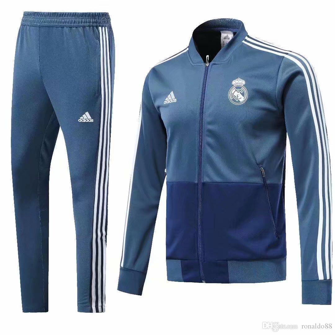 416bb3135 Good Wholesale New 18 19 Season Real Madrid Jacket Bell Sweatshirt ...