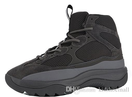 fa599387ded16 With Box Mens Season 6 Desert Rat Boots For Men High Sneakers Men S Sneaker  Boys Kanye West Shoes Male Outdoor Chaussures Sports Shoes For Kid Sports  Shoes ...