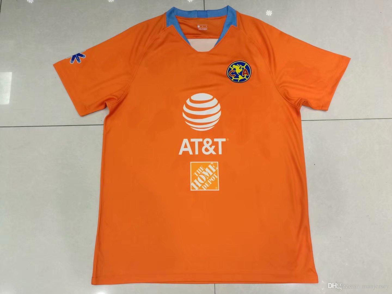 8832d1344 2019 2018 19 Club De Futbol America Home Soccer Jersey New De Futbol America  Away Soccer Shirt Customized Mexico Club Football Uniform From Manjersey