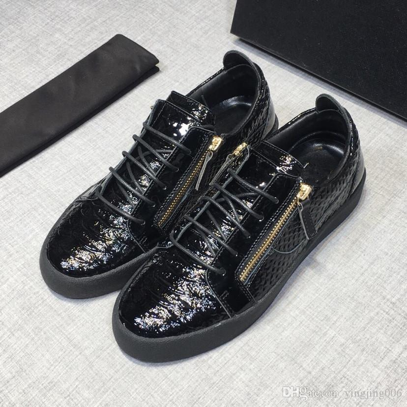 13ace7709f6d Fashion Designer Casual Shoes Mens Daily Lifestyle Skateboarding Shoe  Luxury Trendy Platform Walking Trainers Rd18071704 Nude Shoes Orthopedic  Shoes From ...