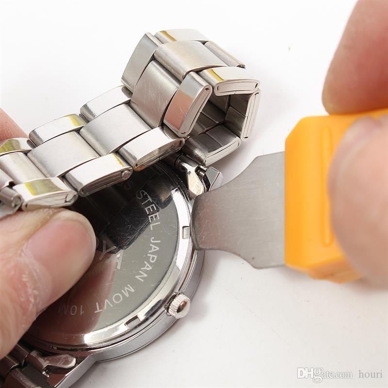 مشاهدة أداة إصلاح أطقم الساعات ساعة اليد الغلاف الخلفي حالة فتاحة المزيل البطارية تغيير الساعاتي أداة إصلاح كيت
