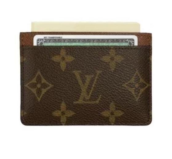 86a62732b8e HOT78LOUIS Vuitton New Women Leather Wallet Coin Purse Louis Card Package  Men Fold Clutch Bag Card Wallet Business Card Holder Key Bag Coat Pocket ...