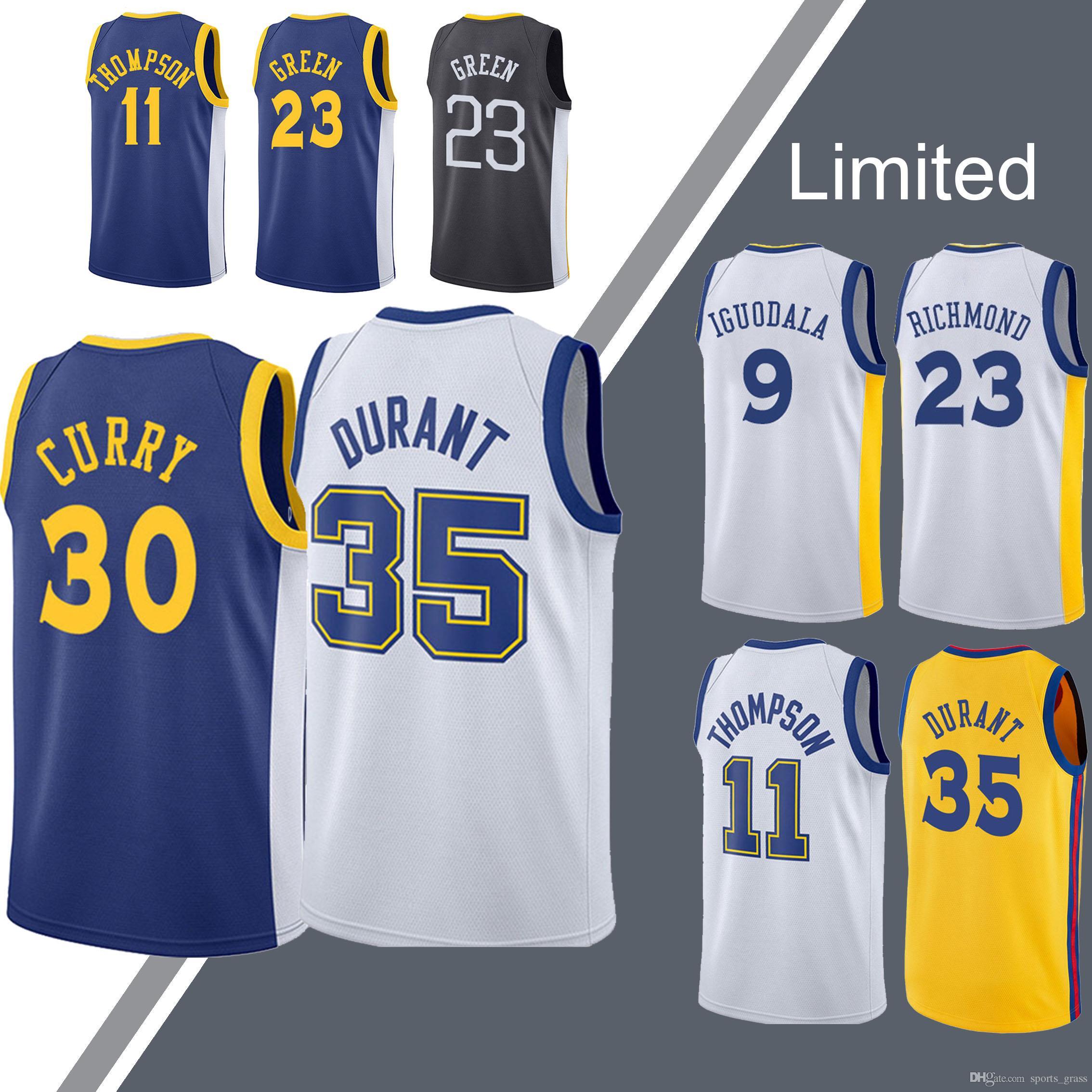 best service c9c4f a0cf5 Warriors jerseys Stephen 30 Curry jersey Kevin 35 Durant Draymond 23 Green  Andre 9 lguodala jerseys