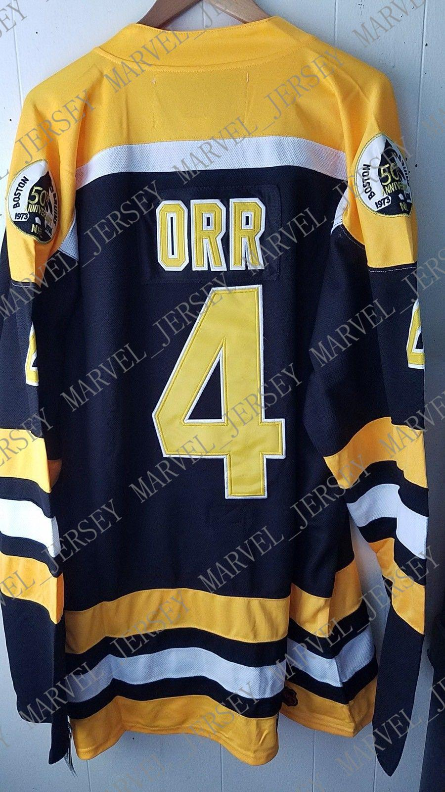 more photos 23941 3d1e9 Cheap custom The Bobby Orr Boston Bruins CCM Home Jerseys CCM Mens  Personalized stitching jerseys