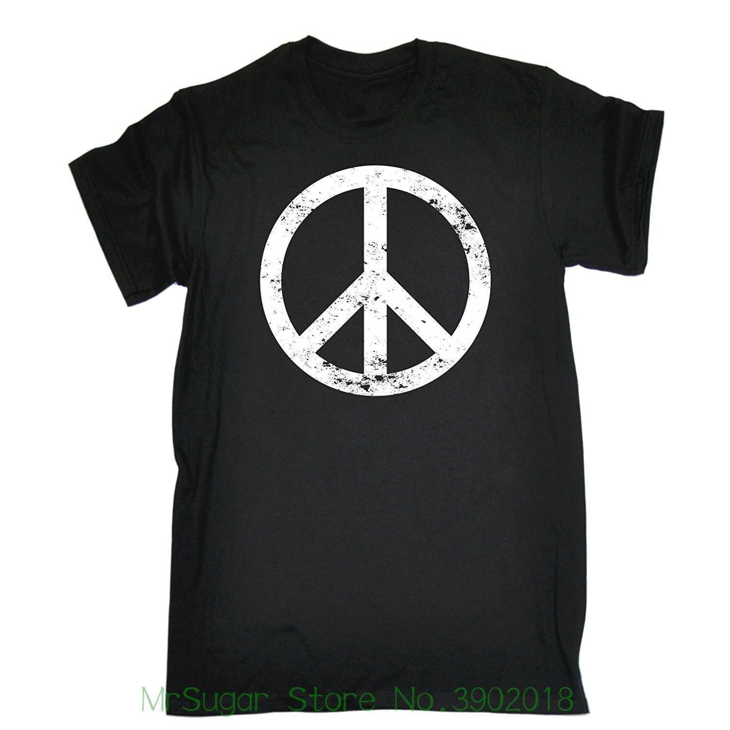 Symbol Seventies Anni Music Shirt Peace Top '70 T Acquista Tee OXTiZkwPul